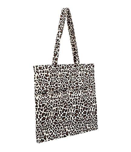 SIX Einkaufstasche im Leoparden Print (539-159)