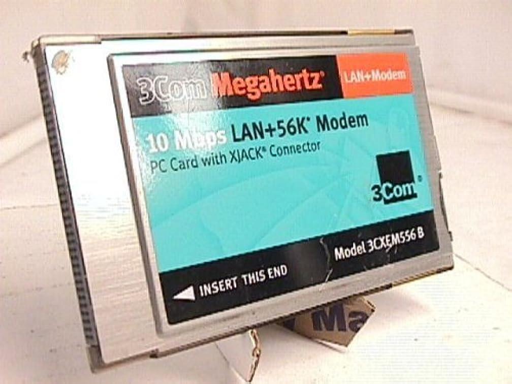 3Com 3CXEM556 10Mbps 56K Modem/LAN with X-Jack