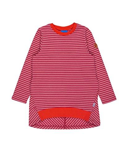 Finkid Lumikki dusty rose persian red Mädchen Winter Jersey Tunika Kleid