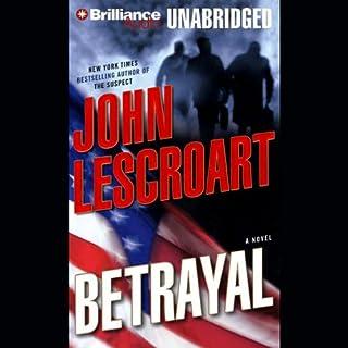 Betrayal audiobook cover art