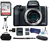 Canon EOS M50 Digitalkamera, schwarz, Body