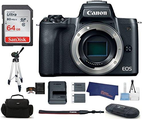 Canon EOS M50 Digitalkamera, schwarz,...
