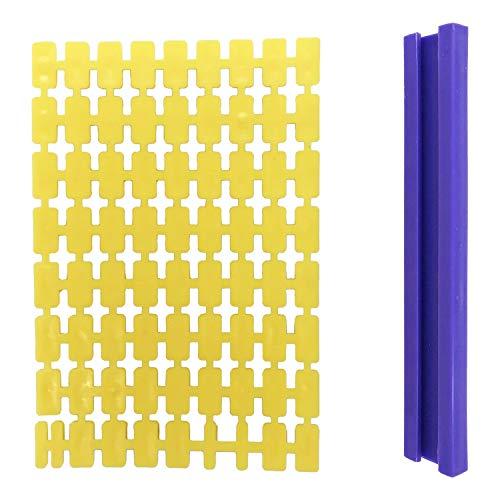 Wohlstand Keksstempel,Set mit 72 Buchstaben und Zahlen Buchstaben Ausstecher,für Kekse und Fondant, Prägestempel/Ausstechformen