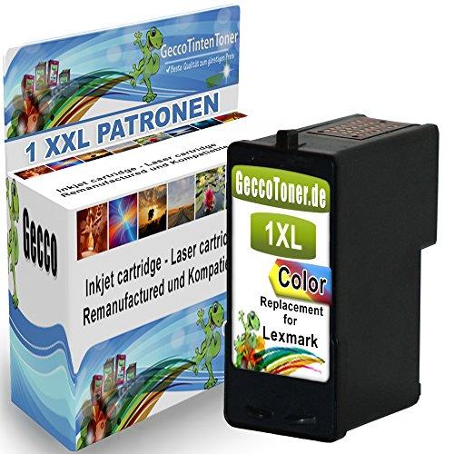 Kompatible Druckerpatrone Als Ersatz für Lexmark Nr. 1 XL Color Farbig Colour für Lexmark X2310 X2315 X2330 X2350 X2450 X2470 X3450 X2320 X2340