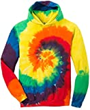 Koloa Youth Colorful Tie-Dye Hoodies - Youth X-Large Rainbow