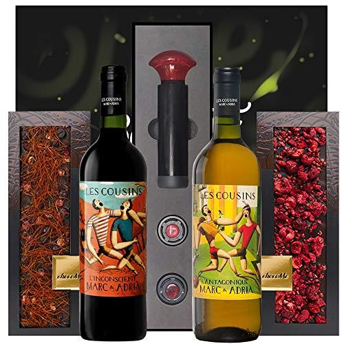 Gourmet Schokolade & Priorat Wein Geschenk