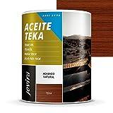 ACEITE TEKA AL AGUA Protección y restauración de la madera Teca en intemperie. (2,3 L, TEKA)