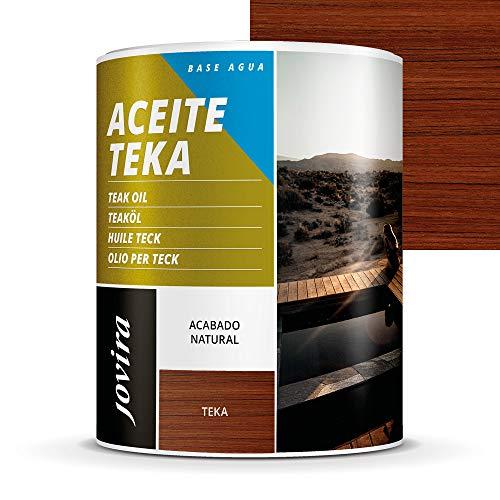 ACEITE TEKA AL AGUA Protección y restauración de la madera Teca en intemperie. (750 ml, TEKA)