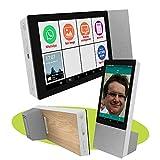 Mobiho Essentiel - La Tablette Senior Initiale Maxi Son 7P, WiFi, Se Pose Facilement pour Utilisation, Son Tres Fort idéale pour Mal entendants. avec Whatsapp, skype, Internet Senior, etc.