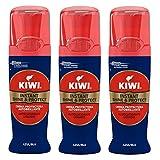 Kiwi Shine & Protect Nettoyant Chaussure/Cirage Marine 75 ml - Lot de 3