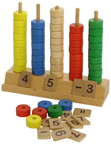 Goula Wooden Vertical Abacus