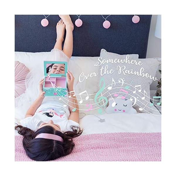 Amitié Lane Unicorn Jewelry Box For Girls - Two Unicorn Gifts For Girls Plus Augmented Reality App (STEM Toy) - Unicorn… 7
