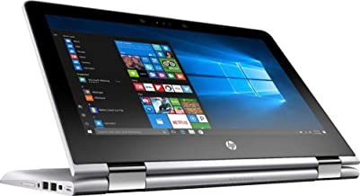 HP Pavilion x360, Premium 2019 Flagship 11.6 inch HD IPS Touchscreen 2 in 1 Laptop, Intel Quad-Core Pentium Silver N5000, 8GB DDR4, 500GB HDD, HD Webcam Bluetooth 4.2 802.11ac USB 3.1HDMI Win 10