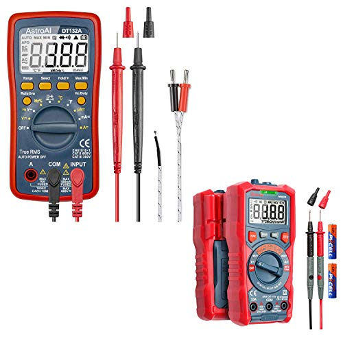 AstroAI Digital Multimeter, TRMS 4000 Counts Volt Meter (Manual and Auto Ranging) Battery Voltage Tester