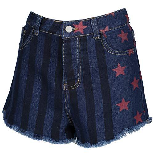 Birds of Prey Harley Outfit (US 6, Blue Denim Shorts)