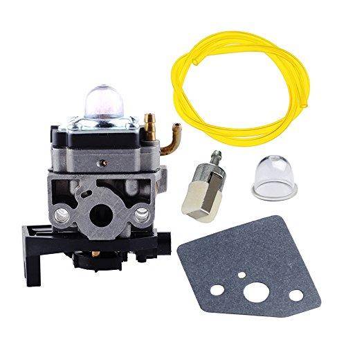 HIPA Vergaser mit Dichtung Fuel Line Filter Primerpumpe für Honda Motor GX35gx35nt hht35s Rasentrimmer/Motorsense # 16100-z0z-034WYB 16C