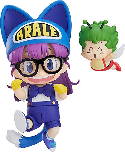 Good Smile Company Dr. Slump Nendoroid Action Figure Arale Norimaki Cat Ears Ver. & Gatchan 10 cm