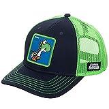 Casquette de Baseball en Coton Snapback de Haute qualité Hommes Femmes Hip Hop Dad Mesh Trucker Hat-Super Mario