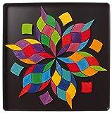 Puzzle magnético espiral de colores