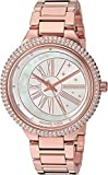 Michael Kors Women's Taryn Analog-Quartz Watch with Stainless-Steel Strap, Rose Gold, 18 (Model: MK6551)