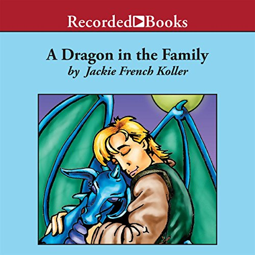 A Dragon in the Family audiobook cover art