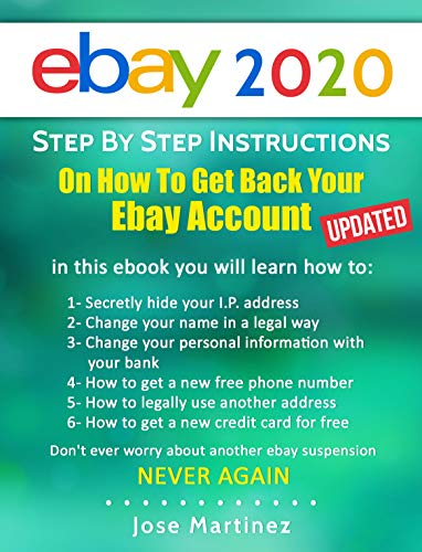 How to beat an eBay Suspension in 2020 eBook: Martinez, Jose: Amazon.co.uk:  Kindle Store