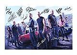 Fast & Furious 6 Autogramme Signiert 21cm x 29.7cm Foto