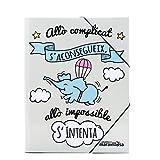 La Mente es Maravillosa - Carpeta con frase y dibujo divertido (Diseño Cerdifante) (Catalán)