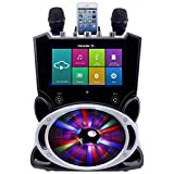 Karaoke USA Complete Wi-Fi Bluetooth Karaoke Machine with 9-Inch Touch Screen (WK849)
