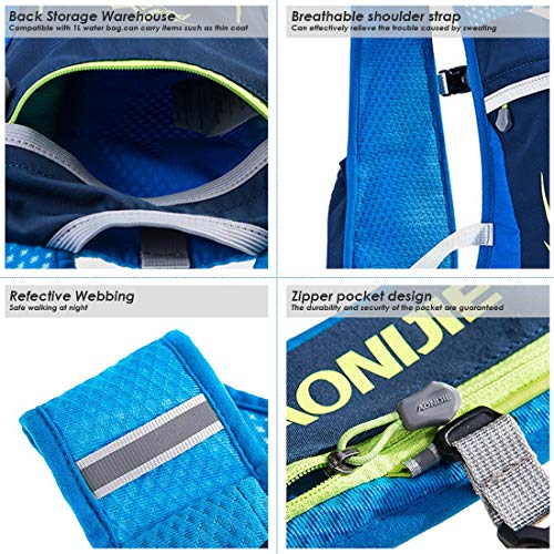 AONIJIE 5.5L Hydration Running Backpack Men & Women & Kids