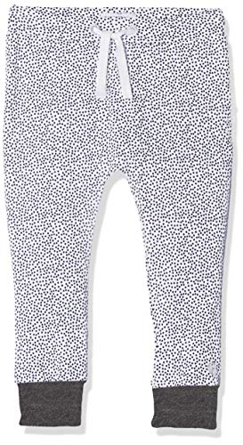 Noppies Baby-Unisex U Pants Jersey Loose Kirsten AOP Hose, Weiß (White C001), 74