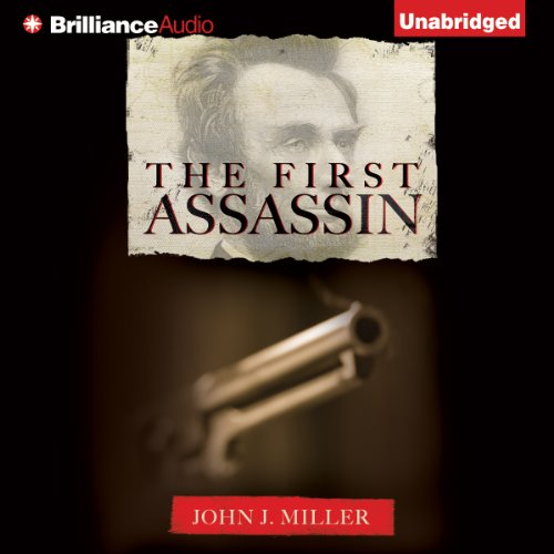 The First Assassin audiobook cover art