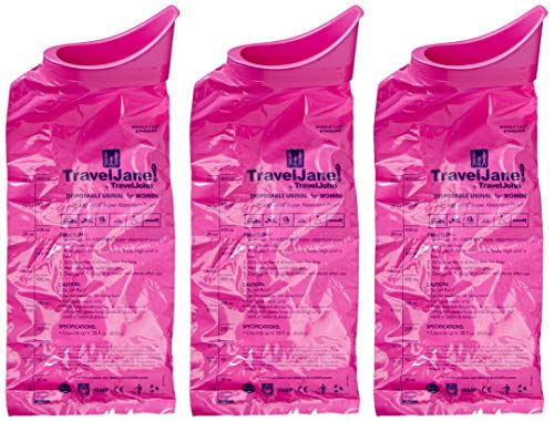 Travel John Disposable ZAZ Personal Urinal Bag