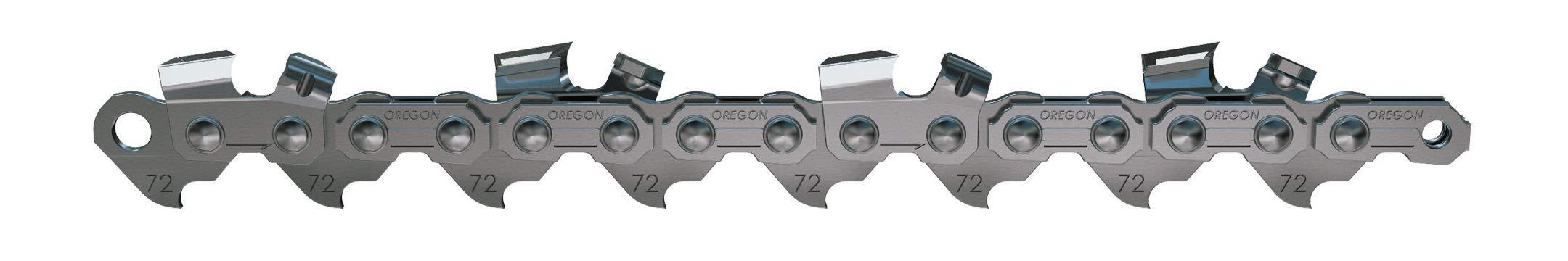 Oregon 70 Drive Link Vanguard 3/8-Inch Pitch, .050-Inch Gauge, Low Kickback Saw Chain 72V070G