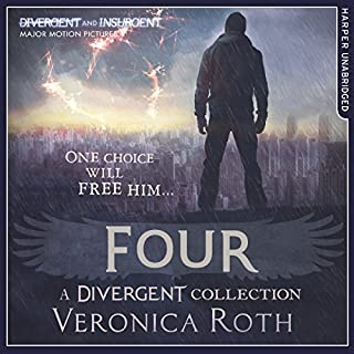 Four: A Divergent Collection                   By:                                                                                                                                 Veronica Roth                               Narrated by:                                                                                                                                 Aaron Stanford                      Length: 6 hrs and 33 mins     236 ratings     Overall 4.5