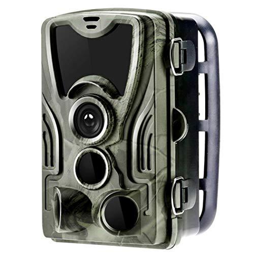 Aiyrchin Cámara del Rastro de la cámara de la Fauna de Caza Impermeable Trampa 0,3 s Tiempo de activación 1080P versión de la Noche de Fotos