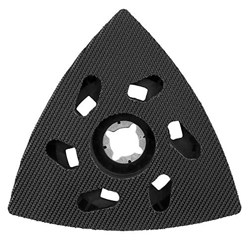 Makita B-65115 B-65115-Plato Lija 93mm Velcro starlock, Negro