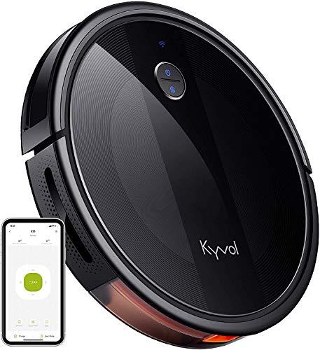 KYVOL Cybovac E20 Wi-Fi conectado Robot Aspirador, funciona con Alexa, 2000Pa Succión, 150 min...