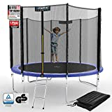 Kinetic Sports Outdoor Gartentrampolin Ø 305 cm, TPLS10, inklusive Sprungtuch aus USA PP-Mesh...