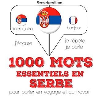 Couverture de 1000 mots essentiels en serbe