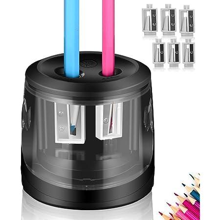 /à Piles Phayee Taille-Crayon /électrique pour Tous Les Crayons et Crayons Taille-Crayon /électrique Automatique pour la Classe des Enfants