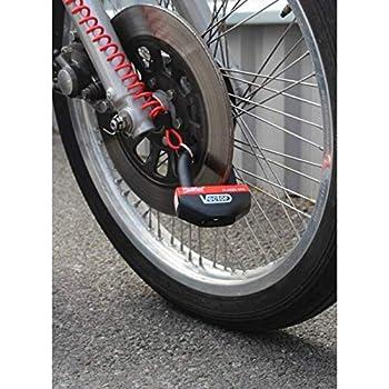 Vector - Antivol Moto Bloque Disque Minimax+ 16Mm / 47X40Mm - Classe SRA & ART5 - Type U - avec Cordon De Rappel - Fiable