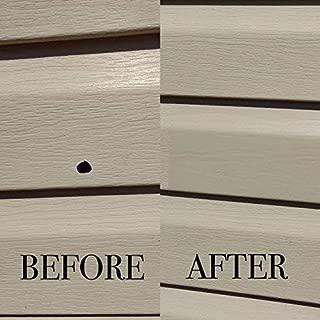 Mendyl Vinyl Siding Repair Kit, Cover Any Cracks, Holes, or Blemishes on Vinyl Siding - 10 Patches