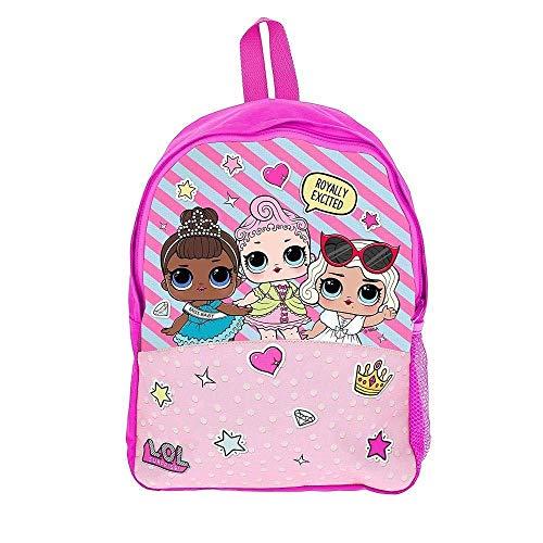 L.O.L. Surprise ! Zaino Scuola Lol Surprise Borsetta Bimba Bambole Lols Zaino Prima Elementare Accessori per la Scuola Bambina Confetti Pop