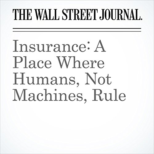 Insurance: A Place Where Humans, Not Machines, Rule copertina