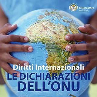 I Diritti internazionali: le Dichiarazioni dell'ONU cover art