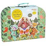 The Magic Toy Shop Woodland Friends Stitch & Sewing Kit Kids Animals Sew