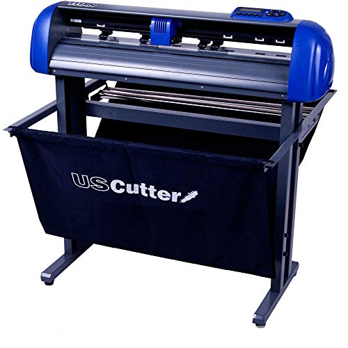 USCutter Titan 28 inch Vinyl Cutter with Stand, Basket and...