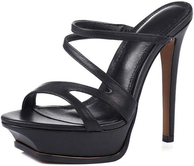 Damen Plateau High Heel Sandalen Gladiator Gladiator Pumps Offene Zehen Dicker Boden Rom Pantoletten Schuhe Hochzeit Party Club Stilettos  beste Qualität zum besten Preis
