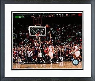 Allan Houston New York Knicks NBA Action Photo (Size: 12.5 x 15.5) Framed